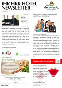 Hotel - Newsletter