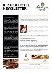Newsletter August 15