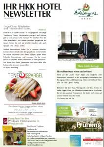 Newsletter Mai 16