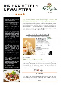 Newsletter Noviembre 15