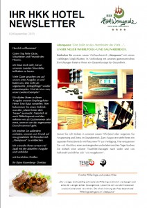 Newsletter September 15