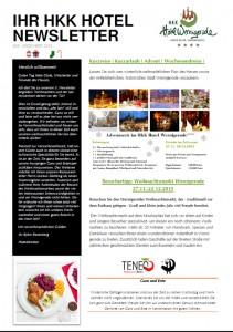 Newsletter Dezember 15