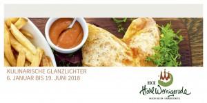 Kulinarischer Kalender 1. Halbjahr 2018
