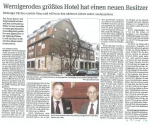 Direktor des Hotels und Besitzer - Wernigerode - Harz
